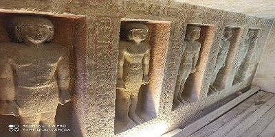 افتتاح مقبرتي إيدو وقار بمنطقة آثار الهرم