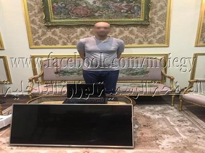 ضبط أحد الأشخاص لقيامه بإرتكاب واقعتى سرقة بأحد العقارات بالقاهرة