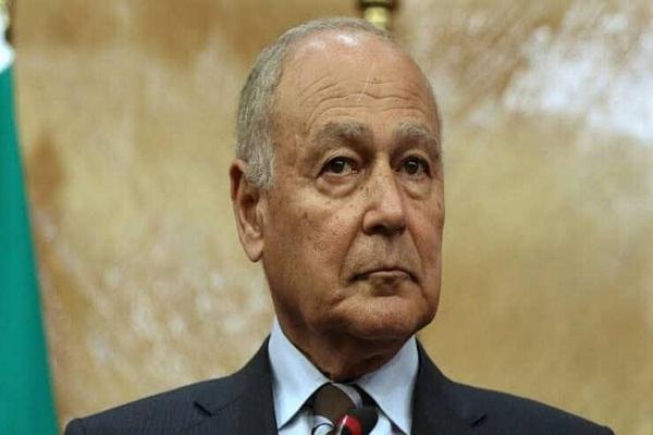 """""""أبو الغيط"""" يجدد رفض الجامعة العربية للتدخلات العسكرية الأجنبية في الأزمة الليبية"""