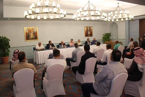 وزيرا السياحة والآثار والطيران المدني ومحافظ جنوب سيناء يلتقون بمستثمرى طابا ونوبيع