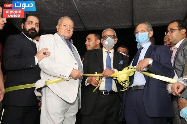 أبو شقة وقيادات بيت الأمة يفتتحون مقر الوفد الجديد (صور)