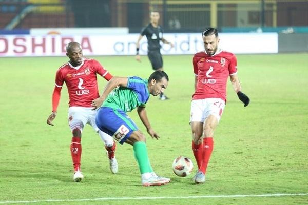 الليلة .. الأهلي يواجه المقاصة بعد حسم درع الدوري