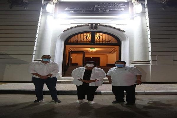 وزيرة الثقافة تتفقد أعمال تطوير مسرح ليسيه الحرية بالإسكندرية تمهيدًا لإعادة تشغيله مع احتفالات اكتوبر (صور)