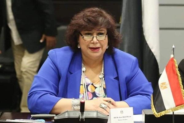 وزيرة الثقافة تعلن استئناف نشاط معارض الكتاب