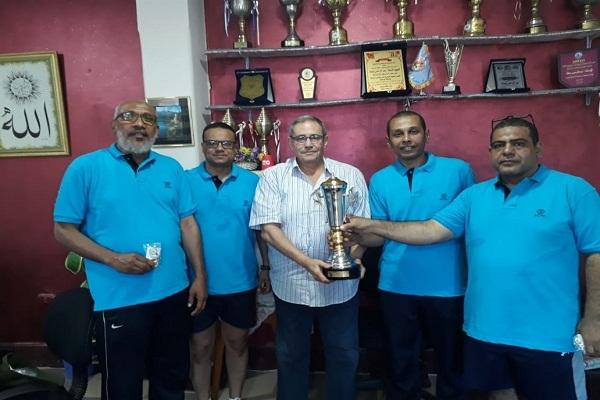 فريق مصر للألومنيوم للاسكواش يحصد ذهبية بطولة الشركات الـ53 ببورسعيد