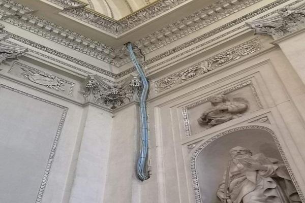 الآثار: الصورة المنشورة على مواقع التواصل الاجتماعي خاصة بكاتدرائية باليرمو بإيطاليا